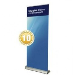 Imagine - Interchangeable Banner Stand