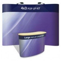 Advantage 4x3 + Large Counter - Display Kit