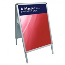 A-Master Silver - Pavement Sign