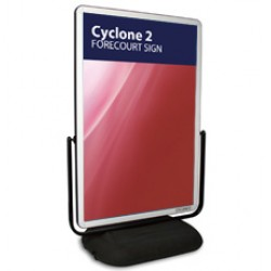 Cyclone 2 - Forecourt Sign
