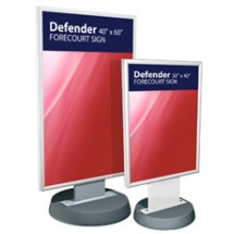 Defender - Forecourt Sign